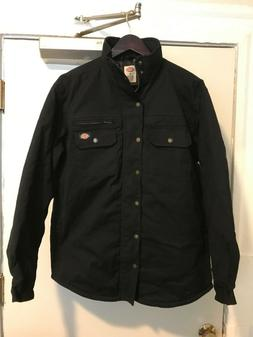 NWOT Men's Dickies Black Work Wear Jacket Size Medium.