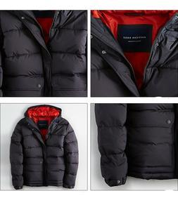 NWT American Eagle AE Men's Hooded Heavy Down Puffer Jacket