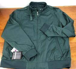 nwt cafe racer hunter green jacket mens
