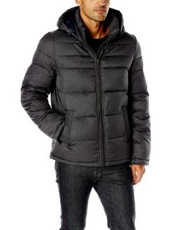 Tommy Hilfiger CLASSIC HOODED PUFFER JACKET BLACK 156AN122