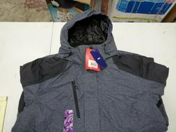 NWT MEN $120 ZeroXposur Midweight Winter Hooded Jacket Coat