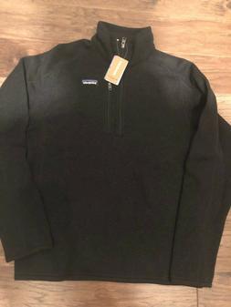 NWT Men's Patagonia Better Sweater 1/4 Zip Jacket Size Mediu