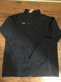NWT Men's Patagonia Better Sweater Full Zip Jacket Size Larg