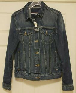 cc2d6139 NWT Men's Tommy Hilfiger Classic Distressed Denim Jacket Sma