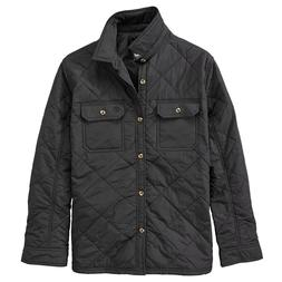 NWT Timberland Men's Cutler River Quilted Shirt Jacket Light