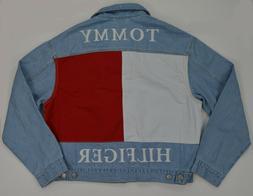 NWT Men's Tommy Hilfiger Denim Jeans Jacket Outerwear w Colo