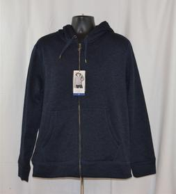 NWT Weatherproof Men's Full Zip Sherpa Lined Hoodie Sweater