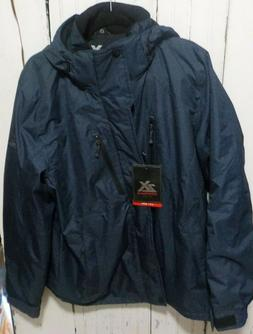 NWT Men's  ZeroXposur  L Cobra Navy Static Coat Jacket Insul