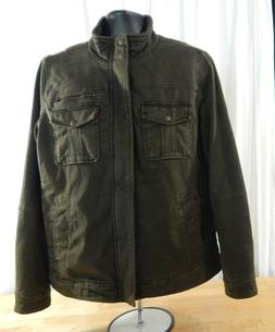 NWT Men's Levi's Barn Jacket w/Zip & Snap Closure & Quilted