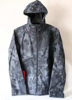 NWT THE NORTH FACE MEN'S MILLERTON HOODED RAIN JACKET BLACK