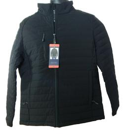NWT Men's Nautica Quilted Stretch Full Zip Water & Wind Resi