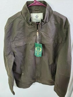nwt men s stand collar cotton military
