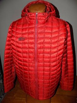 NWT Men's The North Face Thermoball Hoodie Jacket  CARDINAL
