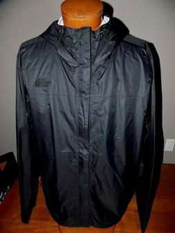 NWT THE NORTH FACE MEN'S VENTURE WATERPROOF JACKET TNF BLACK