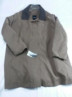 NWT LONDON FOG Men's XL Khaki Color Jacket Coat.