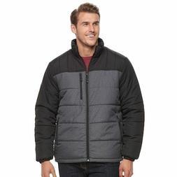 NWT MENS Big & Tall ZeroXposur Flex Puffer Jacket Coat DARK