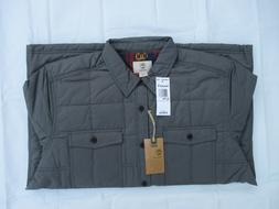 NWT Timberland New $128.00 Men Mill Brook Quilted Overshirt