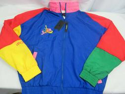 NWT Nike Air Jordan Multicolored Windbreaker Jacket Men's