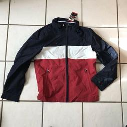 NWT Tommy Hilfiger Rain Jacket Men's Size Medium, Hooded