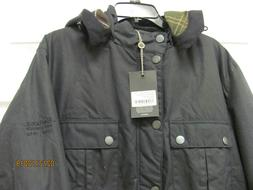NWT Barbour Waxed Cotton Jacket w Hood Men's XL Land Rover D