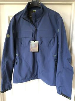 NWT TIMBERLAND Weathergear Casual Jacket Men's L Large Blue