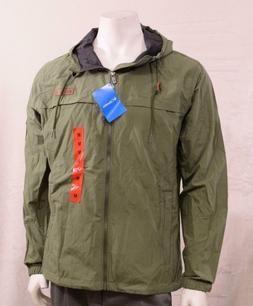 NWT Columbia Wheeler Lodge Windbreaker Jacket Mosstone Men's