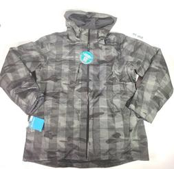 NWT Columbia WHIRLIBIRD Interchange Jacket Black Buffalo CAM