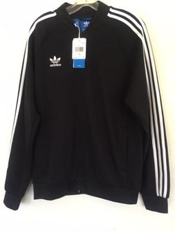Adidas Originals Men Black. Superstar TT Jacket BK5921 N W T