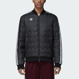 originals sst quilted jacket black men superstar