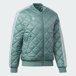Adidas Originals SST Quilted Jacket Men's Large Vapor Stee