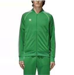 Adidas Originals Superstar Mens Track Jacket Green White