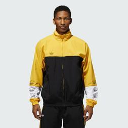 adidas Originals Tourney Warm-Up Jacket Black Yellow White A