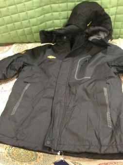 WANTDO Outdoor Men's Black Jacket  Large) 8301