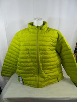 oyanta trail thermal coil insulated jacket mustard