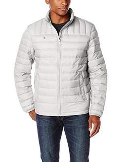 Tommy Hilfiger Men's Packable Down Jacket , Ice, Large