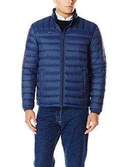 Tommy Hilfiger Men's Packable Down Jacket , Navy, Medium