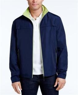 London Fog Packable Windbreaker Navy Mens Size XS New