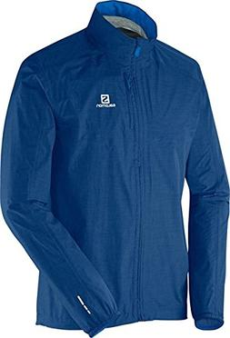 Salomon Park WP Jacket - Men's Midnight Blue Large