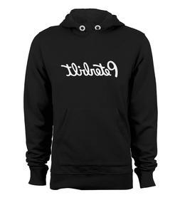 Peterbilt Truck Logo Pullover Hoodie Hooded Jacket Sweats Bl
