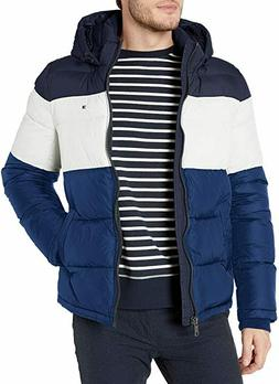 Tommy Hilfiger Puffer Jacket Men's Classic Hooded Bluebell C