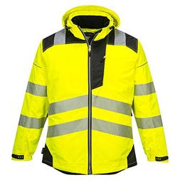 Portwest PW3 Hi-Vis Winter Jacket Work Safety Protective Ref