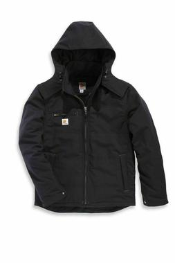 Carhartt Quick Duck Livingston Jacket Black Winter Jacket Me