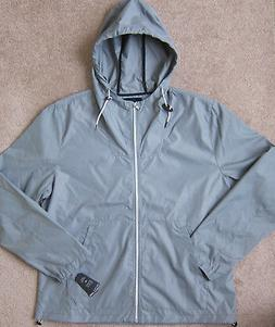 NAUTICA  Rain Wind Light Jacket w/Hood Men's - NWT