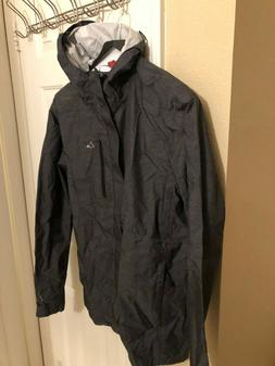 rain jacket mens black large windbreaker lightweight