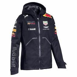 PUMA Red Bull Racing Men's Team Rain Jacket Men Woven Jacket