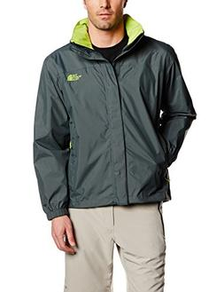 The North Face Men's Resolve Jacket, Spruce Macaw Green, LG