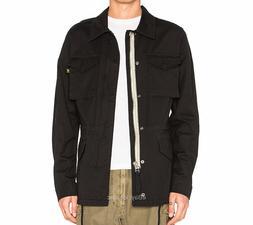 Alpha Industries Revival Field Coat  Black Military Jacket