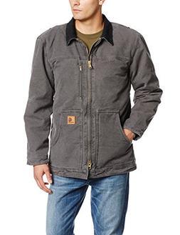 Carhartt Men's Ridge Sherpa Lined Coat - Medium - Gravel