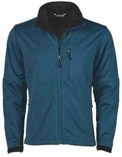 River's End Soft Shell Jacket  Casual   Outerwear - Blue - M