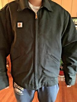 CARHARTT RN14806 J200 Men's Lined Jacket XL Black MADE IN US